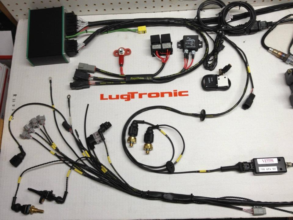 custom wiring harnesses home of the lugtronic plug n play almost any customer requested options are available wire tucks lengthened harness etc just ask